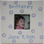 Ceramic Baby Dot Frame